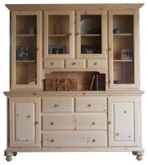 Kitchen Furniture Hutch Sideboards Outstanding Wooden Buffet And Hutch Wooden Buffet And
