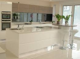 decor luxury kitchen with silestone lagoon kitchen island top and