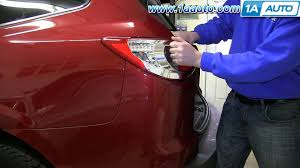 fix tail light cost how to install replace broken taillight 2009 14 chevy traverse youtube