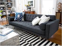 gray sofas farmhouse slipcover sofa in living room farmhouse with