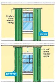 What Height To Hang A Picture 11 Foolproof Decorating Tips Hang Curtains Ceilings And