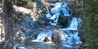 Fall Creek Falls Map Fall Creek Falls Pioneer Mountains Hiking In Idaho