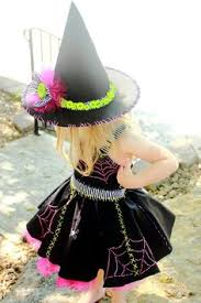 Halloween Witch Costumes Toddlers Toddler Girls Matched Witch Costume Party Halloween