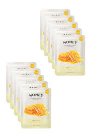 Isaac Mizrahi Sheets It U0027s Skin The Fresh Honey Mask Sheet Pack Of 10 Hautelook