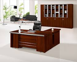 sale modern wooden l type l shape office table design view Office Table L