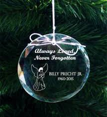personalized pewter memorial tree ornament zoom gift ideas