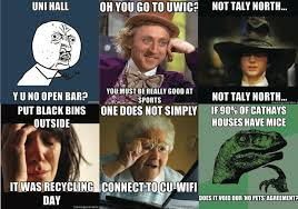 Meme University - cardiff university does memes just don t mention taly north