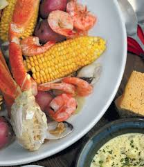 Cape Cod Clam Bake - for an upscale dinner party fête presented a clambake menu in a