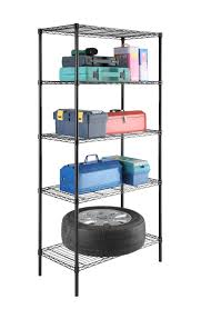 5 Shelf Wire Shelving Stor 5 Tier Shelving Unit 183672 5sl