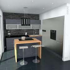 meuble ilot central cuisine meubles cuisine bois massif meuble ilot central cuisine frais unique