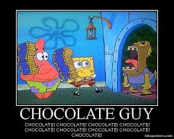 Chocolate Meme Spongebob - spongebob squarepants chocolate guy by onikage108 on deviantart
