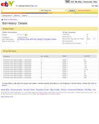 Ebay Spreadsheet Ebay U0027s Stoneark U201cbuyer Bidder Network U201d Analysis U2013 Part 2