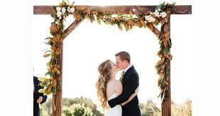 wedding arbor 4 trends in wedding arch design pronghorn resort