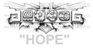 mayan glyphs design b aztec tattoos aztec mayan