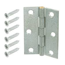 Shutter Hinges Home Depot by Everbilt 2 1 2 In Galvanized Non Removable Pin Narrow Utility