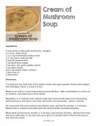 thanksgiving soup recipes make homemade cream of mushroom soup to use in your favorite