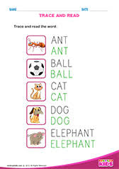 english trace the lines worksheets pre k