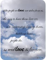 quotes remembering loved ones quote and the picture of the