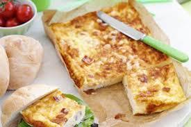 petit plat facile à cuisiner clafoutis au jambon et aux maroilles weight watchers un bon petit