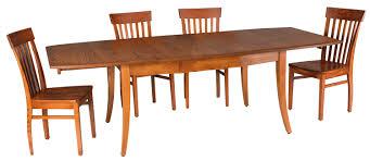 amish transitional dining table u2014 sam u0027s wood furniture