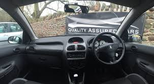 city peugeot used cars peugeot 206 sw 1 4 verve 2006 06 plate 5dr estate in silver