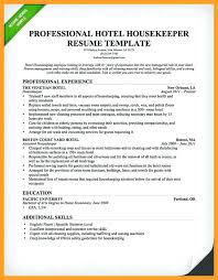 hospital resume exles housekeeping resume resume sles for housekeeping