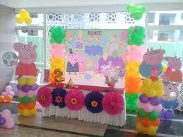 peppa pig decorations amazing peppa pig theme decor birthday custom theme decorations