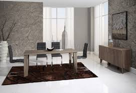 d9871dt dining table in dark sonoma by global w options