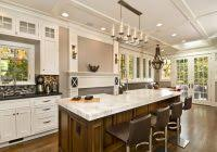 elegant mystery island kitchen home design ideas