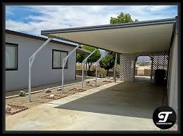 Mobile Home Carport Awnings Carport Supports Aluminum Carports San Go Ca Commercial