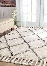Flokati Wool Rug Shag Flokati Geometric 100 Wool Area Rugs Ebay