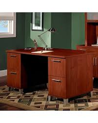 Bush Office Desks Deal Alert Bush Furniture Somerset Office Desk In Hansen Cherry