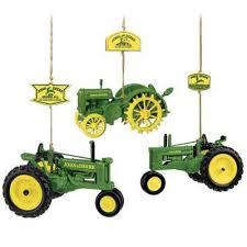 deere tractor ornaments the danbury mint