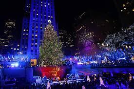 80th annual rockefeller center christmas tree lit up photos