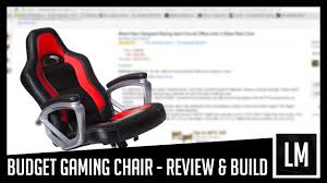 budget gaming chair build unboxing review 1 youtube