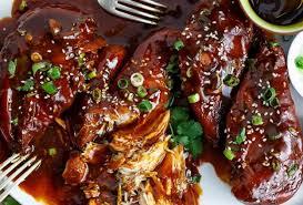 cuisine asiatique facile recette facile de poulet asiatique à la mijoteuse