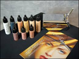 halloween airbrush makeup kit the airbrush makeup guru airbrush maekup kit review and video