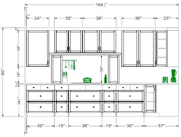 Dimensions Of Kitchen Cabinets Kitchen Cabinet Layout Dimensions Restaurant Kitchen Layout