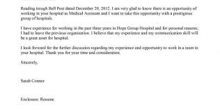cover letter for medical assistant administrative assistant cover