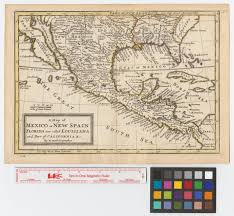 louisiana florida map a map of mexico or new spain florida now called louisiana and