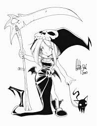 anime halloween drawings u2013 halloween wizard