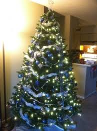 tree decorations blue and silver designcorner