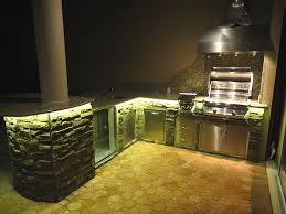 kitchen cool outdoor kitchen lights style home design top in