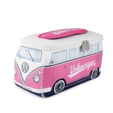 van volkswagen pink vw t1 bus 3d neoprene universal bag pink bune47