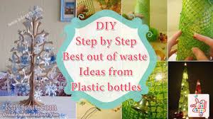 step by step tutorial best out of waste ideas from plastic