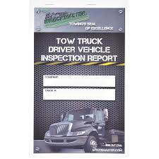 Book Report Commercial Wreckmaster Daily Inspection Forms 30 Form Book Aw Direct