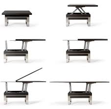 adjustable height side table awesome best 25 adjustable height coffee table ideas on pinterest