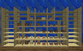 How To Make Couch In Minecraft by Shelf Bibliocraft