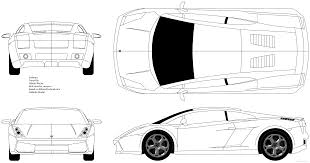 lamborghini gallardo blueprint car tutorial pt 1 blueprints gallardo in blender on vimeo