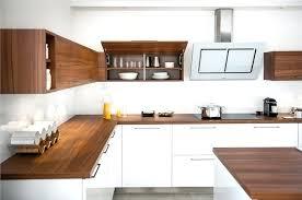 cuisine avec plan de travail en bois meuble de cuisine avec plan de travail petit plan de travail